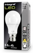 LED Replacement Bulb| 40W Equivalent Light  Lamp | B22 Bayonet |  INTEGRAL